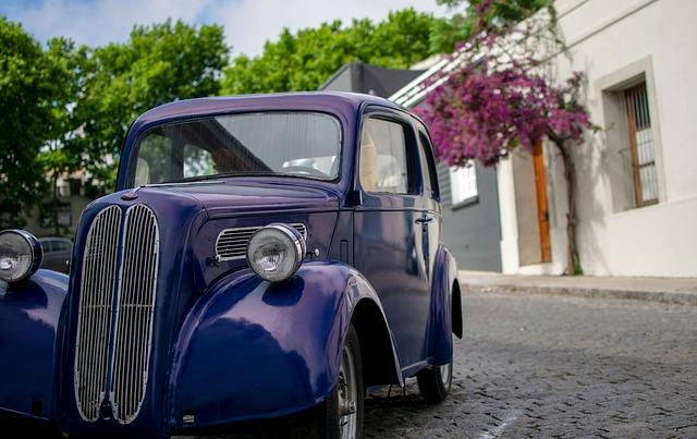 historické auto
