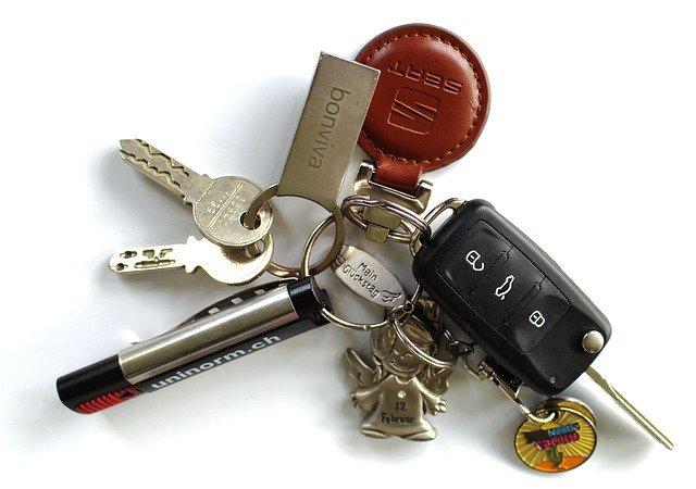klíč od auta